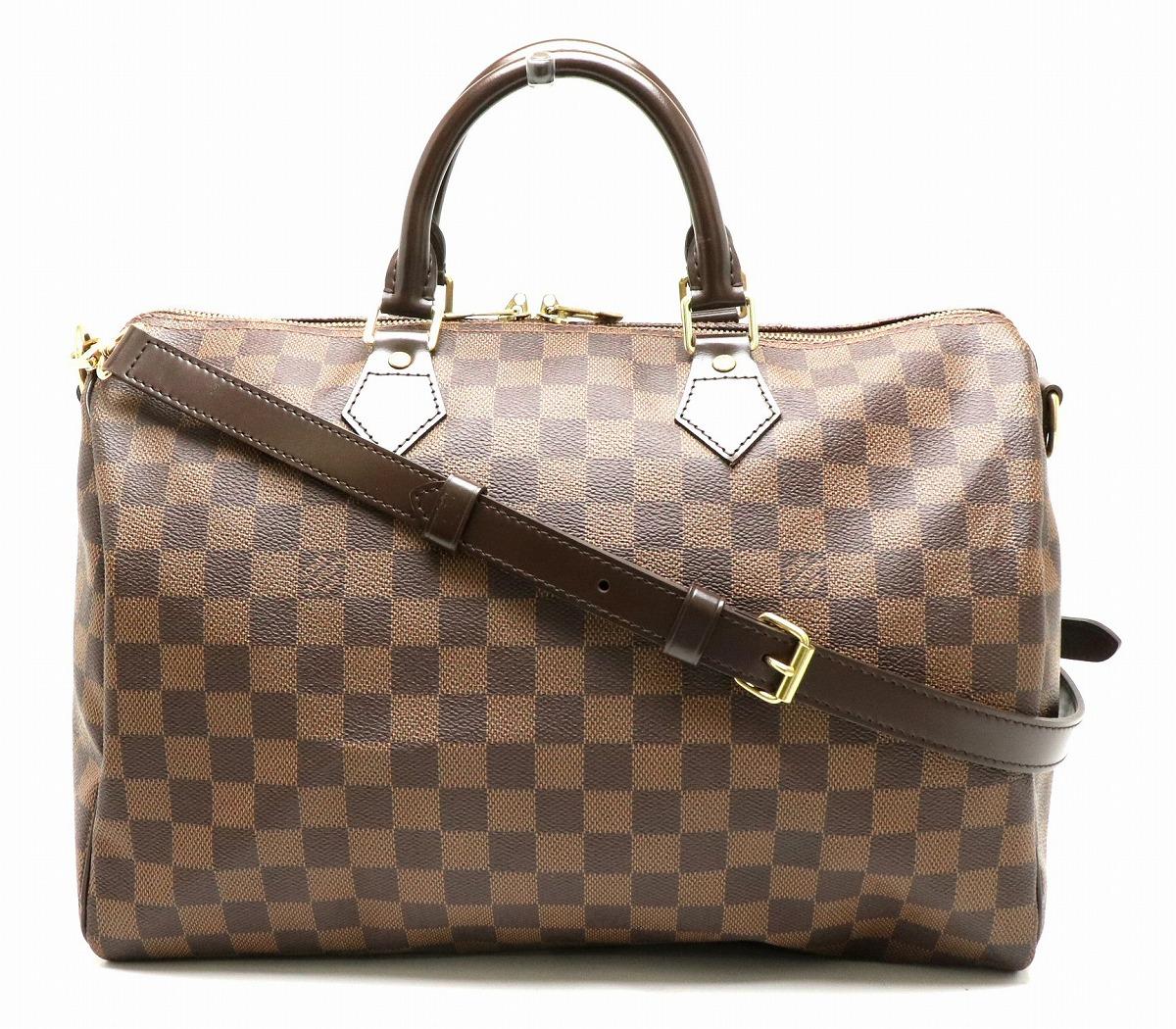 【バッグ】LOUIS VUITTON ルイ ヴィトン ダミエ スピーディ バンドリエール35 ハンドバッグ ボストンバッグ 2WAY ショルダーバッグ N41182 【中古】【s】