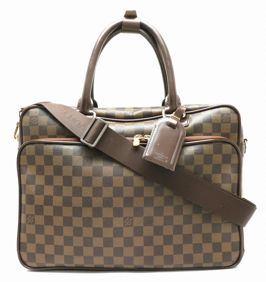 【バッグ】 LOUIS VUITTON ルイ ヴィトン ダミエ イカール ショルダーバッグ ビジネスバッグ 2WAY 斜め掛け N23252 【中古】