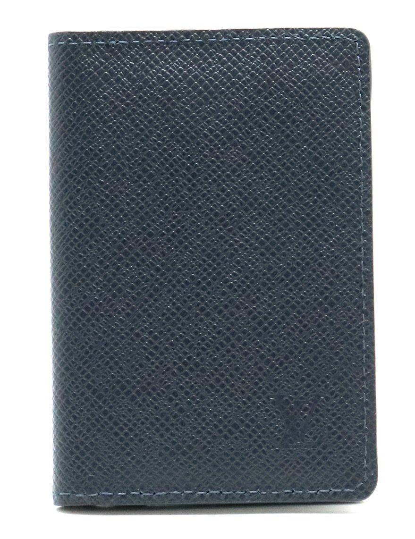 【新品未使用品】LOUIS VUITTON ルイ ヴィトン タイガ オーガナイザー ドゥ ポッシュ カードケース 名刺入れ パスケース 定期入れ レザー ブルーマリーヌ ネイビー 紺 M30535