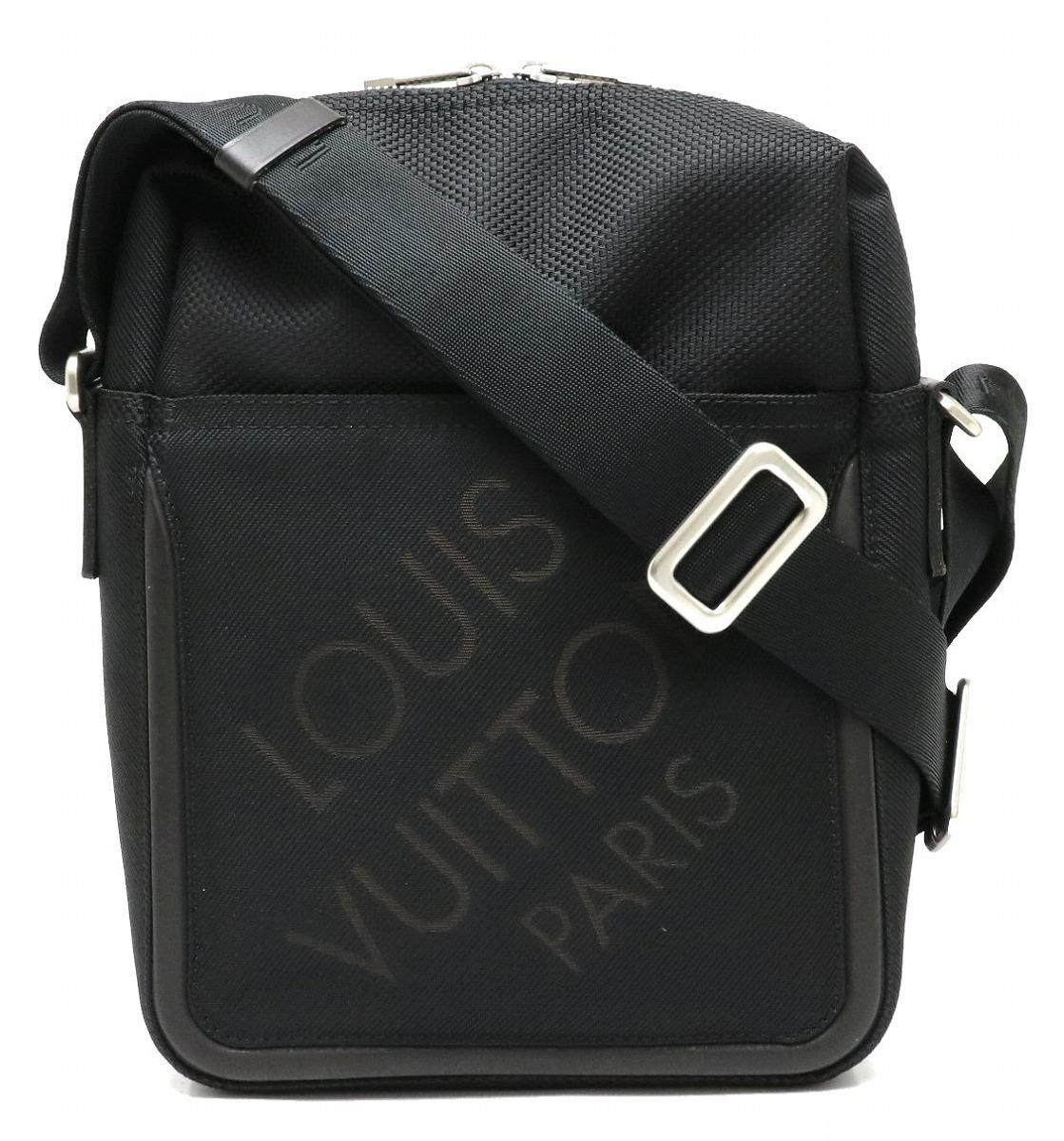 【バッグ】LOUIS VUITTON ルイ ヴィトン ダミエジェアン シタダン ショルダーバッグ 斜め掛け ノワール 黒 ブラック M93042 【中古】