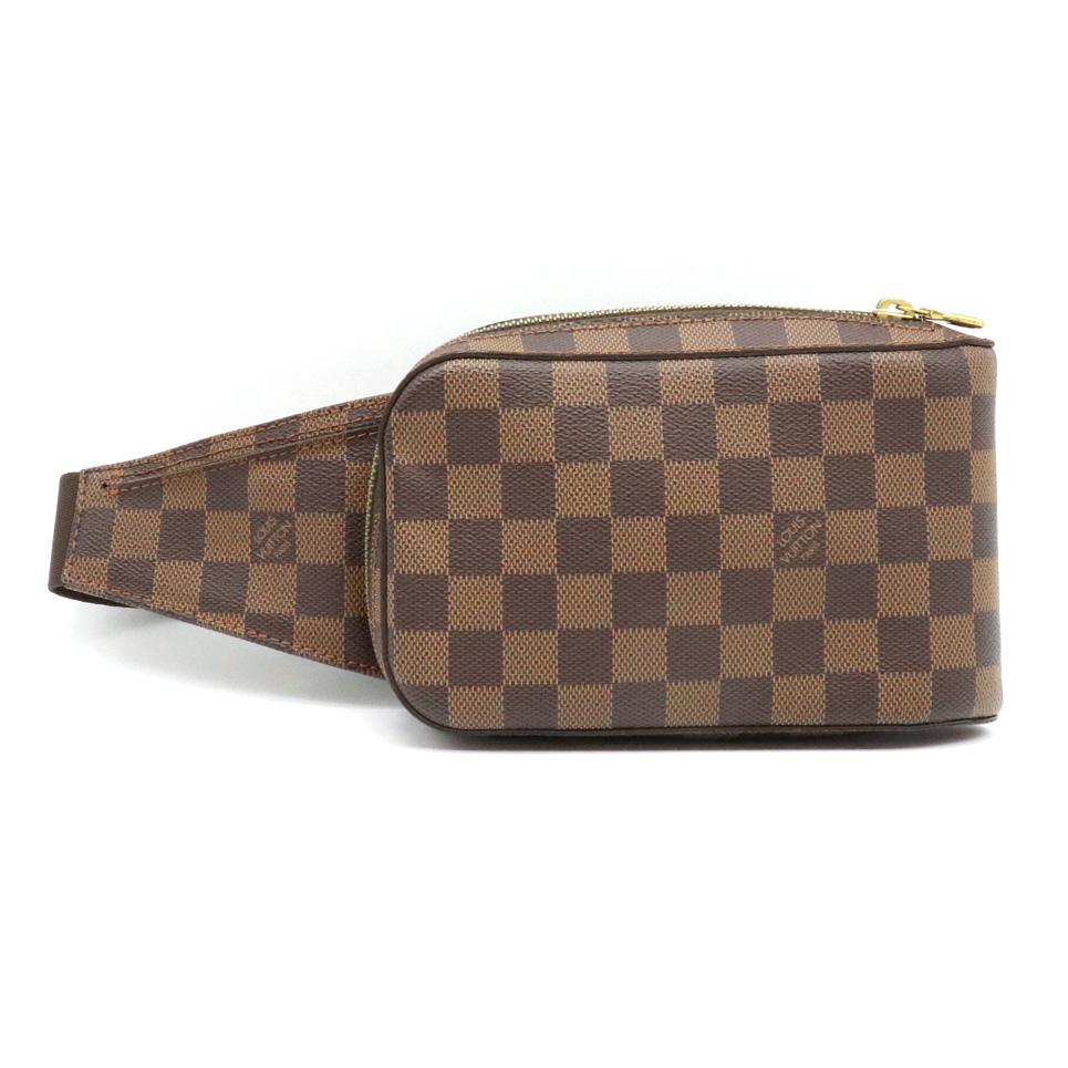 【バッグ】LOUIS VUITTON ルイ ヴィトン ダミエ ジェロニモス ボディバッグ ショルダーバッグ ウエストバッグ ウエストポーチ 新型 N51994 【中古】