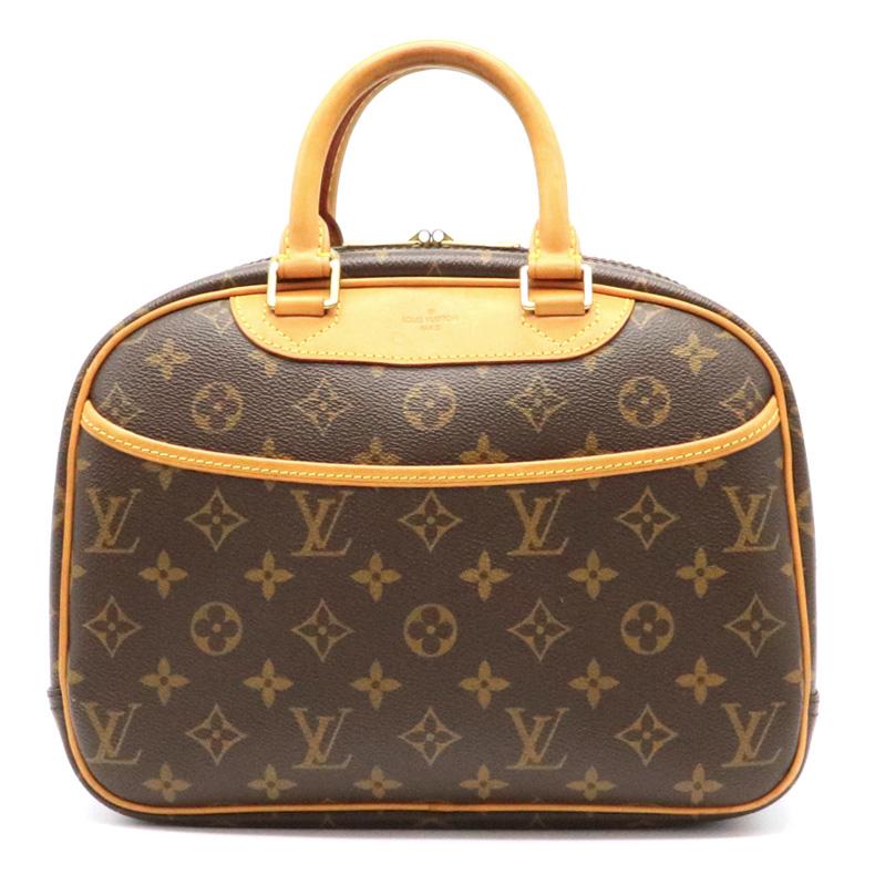 【バッグ】LOUIS VUITTON ルイ ヴィトン モノグラム トゥルーヴィル ハンドバッグ M42228 【中古】