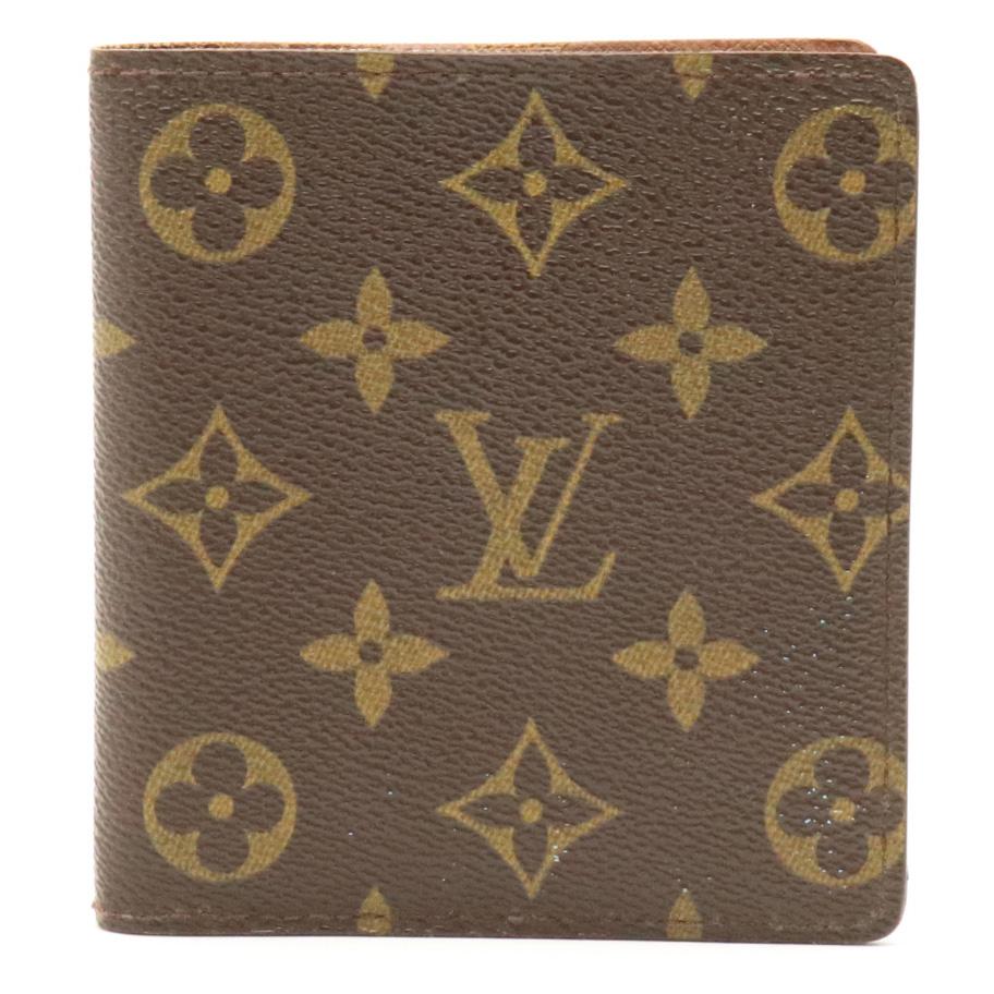 【財布】LOUIS VUITTON ルイ ヴィトン モノグラム ポルトビエ 10カルト クレディ 2つ折札入れ M60883 【中古】