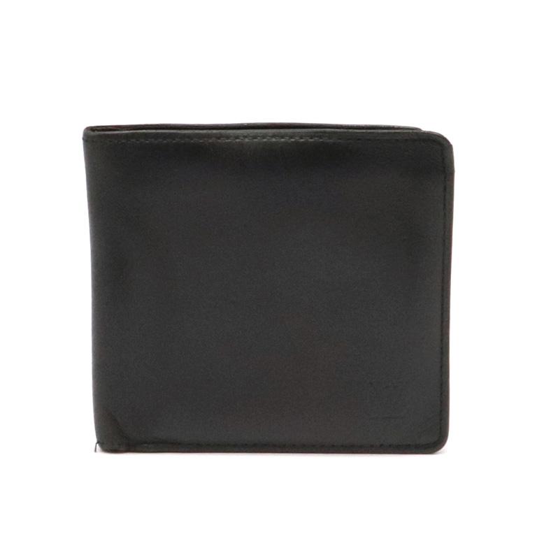 【財布】LOUIS VUITTON ルイ ヴィトン ノマド ポルトフォイユ マルコ 2つ折財布 ノワール 黒 ブラック M85016 【中古】