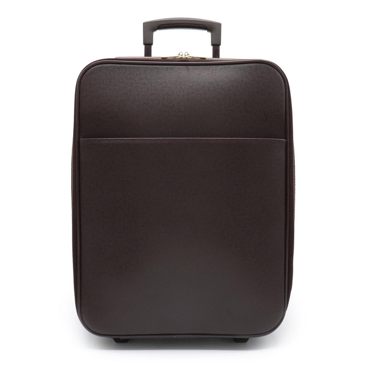 【バッグ】LOUIS VUITTON ルイ ヴィトン タイガ ペガス45 スーツケース キャリーバッグ キャリーケース 旅行用 トラベル レザー アカジュー M23276 【中古】