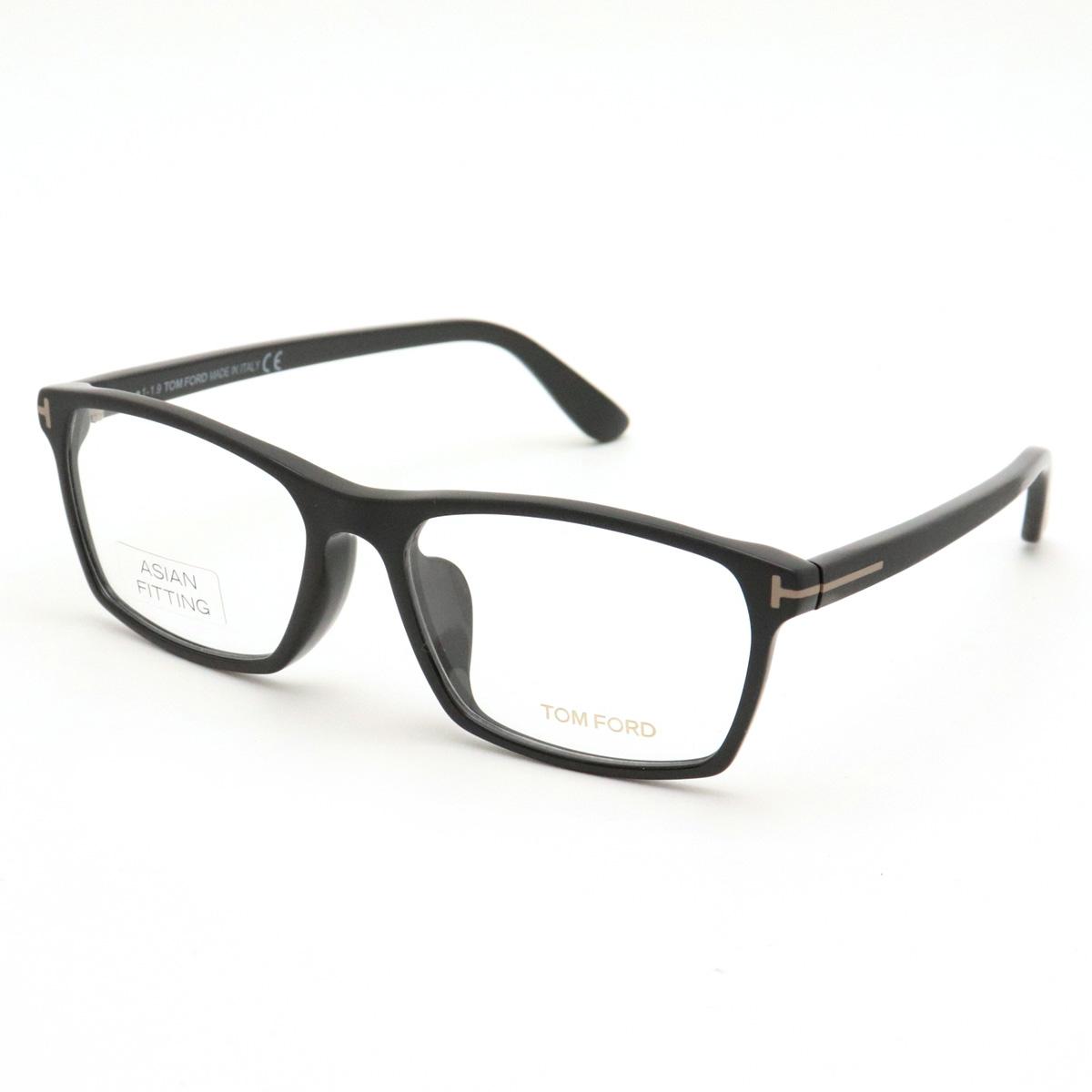 【未使用品】TOM FORD トム フォード トムフォード 眼鏡 メガネフレーム ブラック 59□17 150 TF4295 【中古】