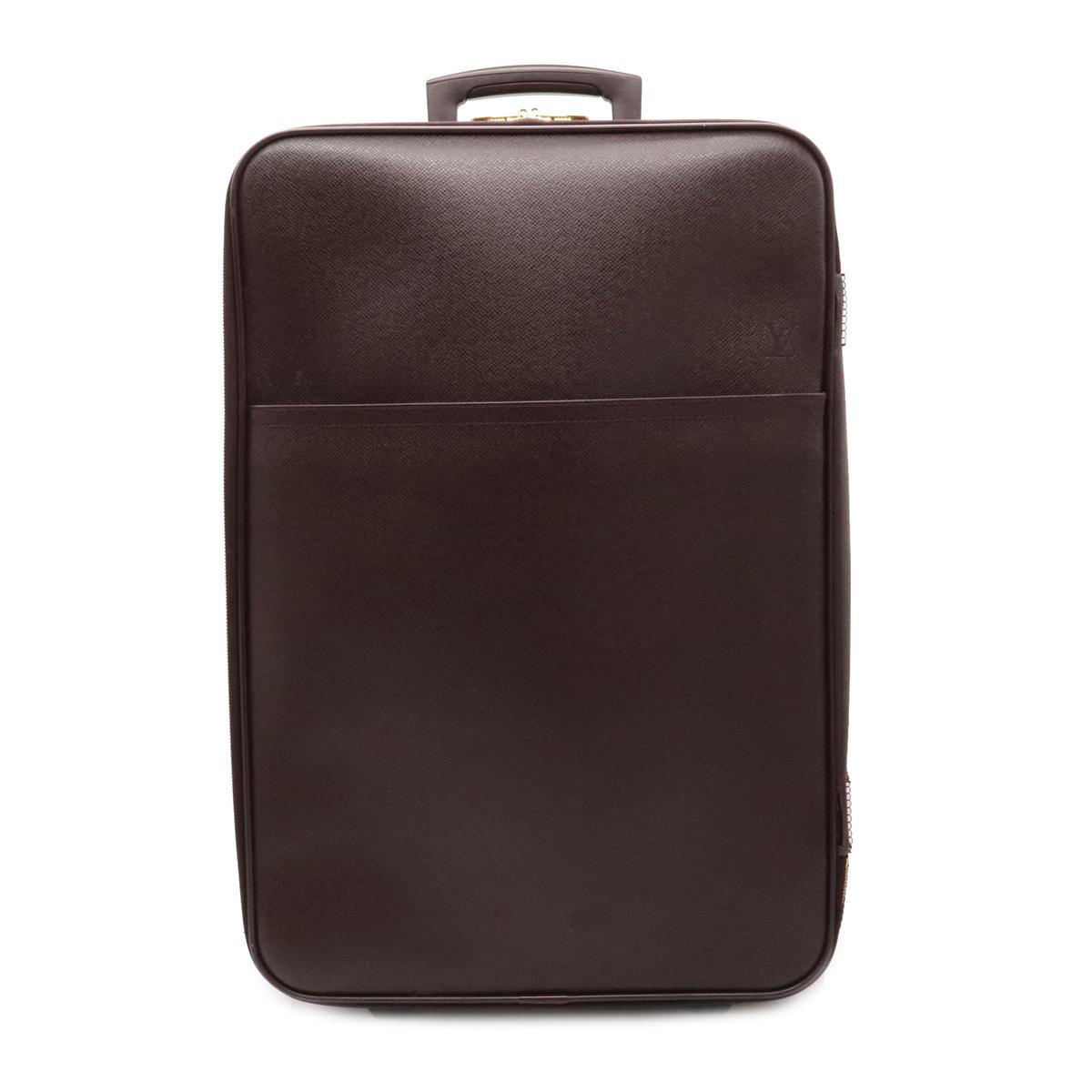 バッグ LOUIS VUITTON 訳あり ルイ ヴィトン タイガ ペガス60 オンラインショッピング スーツケース アカジュー 中古 旅行用 M23266 キャスター付 キャリーバッグ キャリーケース