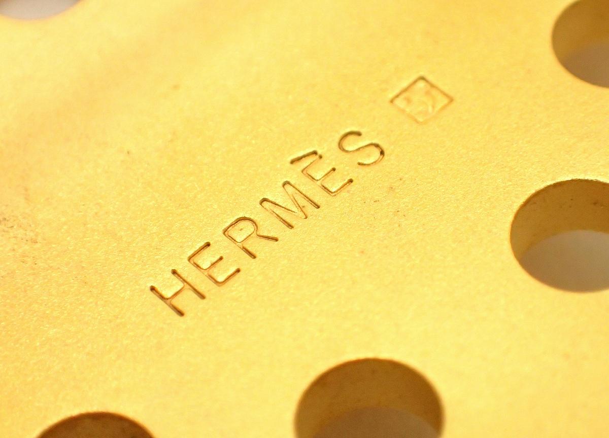 HERMES エルメス エブリン Hロゴ パンチングバックル GP ゴールド色uBlumin 森田質店質屋出店qzGMUpVS