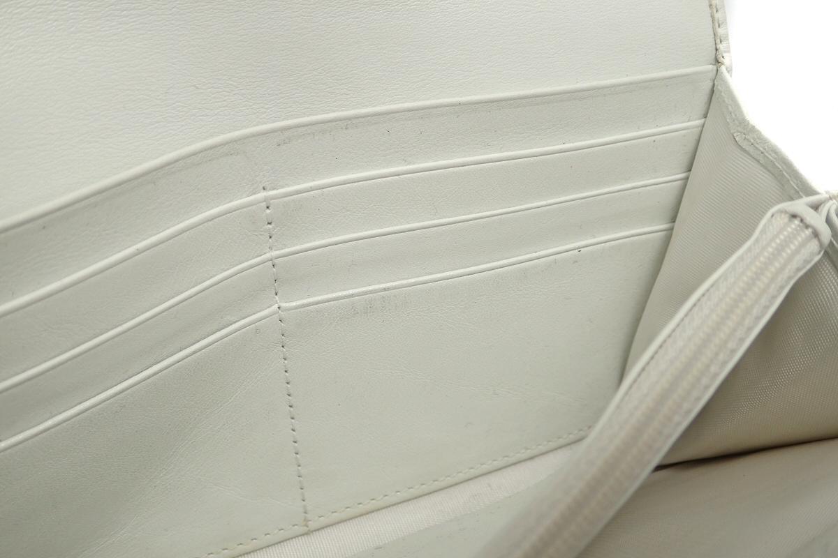 544db9f7325f 楽天市場】【財布】BVLGARI ブルガリ レザー 2つ折 長財布 ホワイト 白 ...