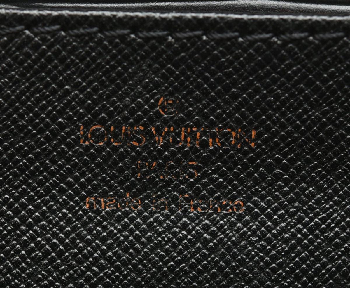 バッグ LOUIS VUITTON ルイ ヴィトン エピ セルヴィエット アンバサダー 書類カバン ビジネスバッグ レザー ノワール 黒 ブラック ゴールド金具 M54412kWCBexrdo