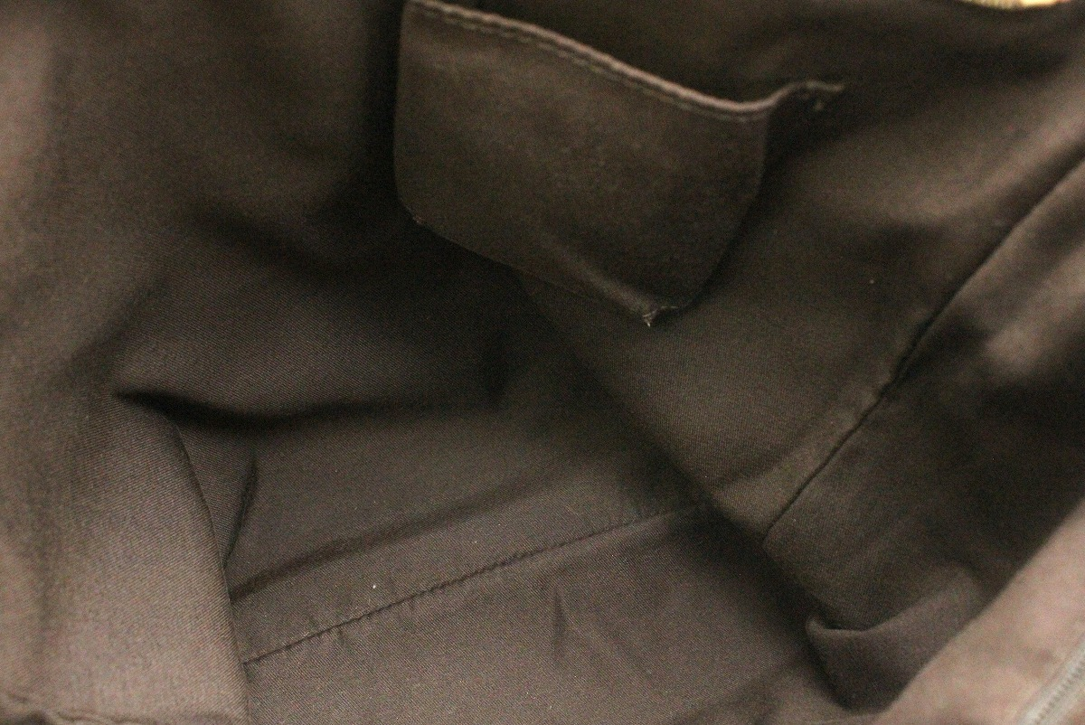 バッグ GUCCI グッチ インターロッキング G ショルダーバッグ 斜めがけショルダー マチなし デニムキャンバス デニムブルー 茶 ブラウン 131326 204991kxrdCBoe