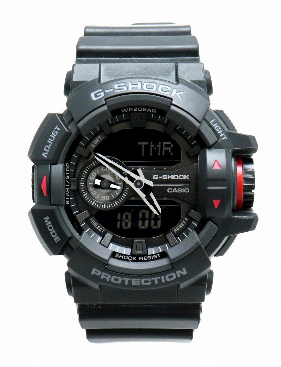 【ウォッチ】 CASIO カシオ G-SHOCK アナログ デジタル メンズ クォーツ 腕時計 GA-400 【中古】【u】