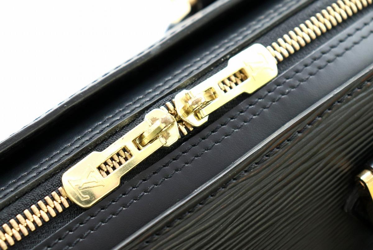 バッグ LOUIS VUITTON ルイ ヴィトン エピ ソルボンヌ 書類カバン ビジネスバッグ ブリーフケース レザー ノワール 黒 ブラック M54512kD9eWEIYH2