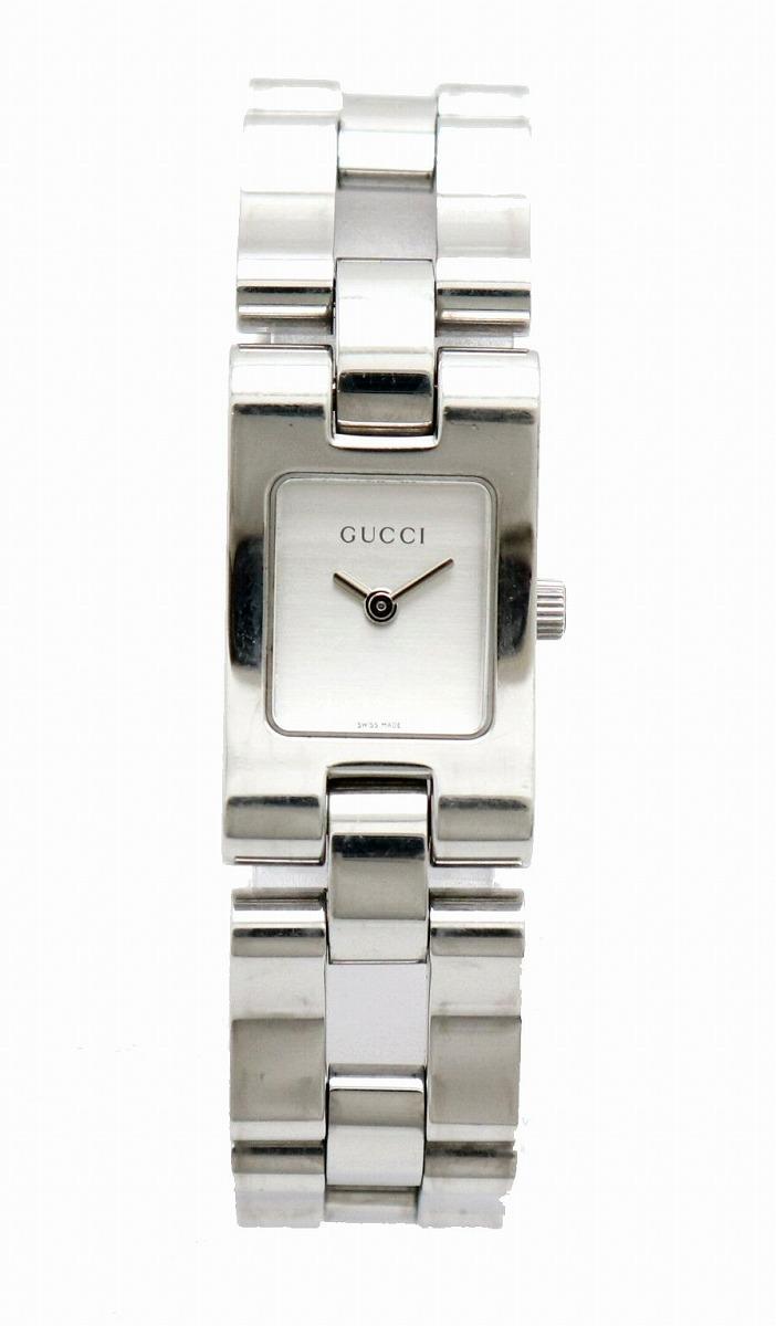 【ウォッチ】GUCCI グッチ ホワイト文字盤 レディース クォーツ 腕時計 2305L 【中古】【u】