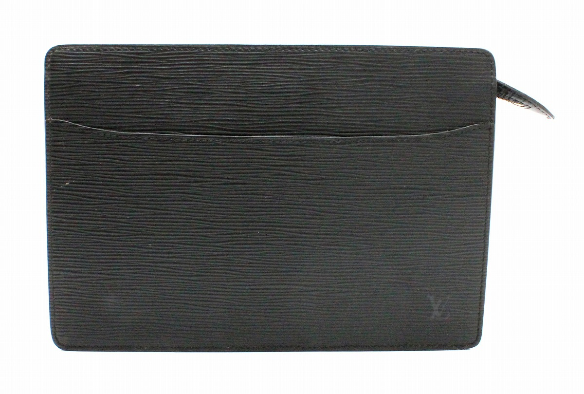1f670aac435d Image is loading Bag-LOUIS-VUITTON-Epi-Pochette-Homme-second-clutch-