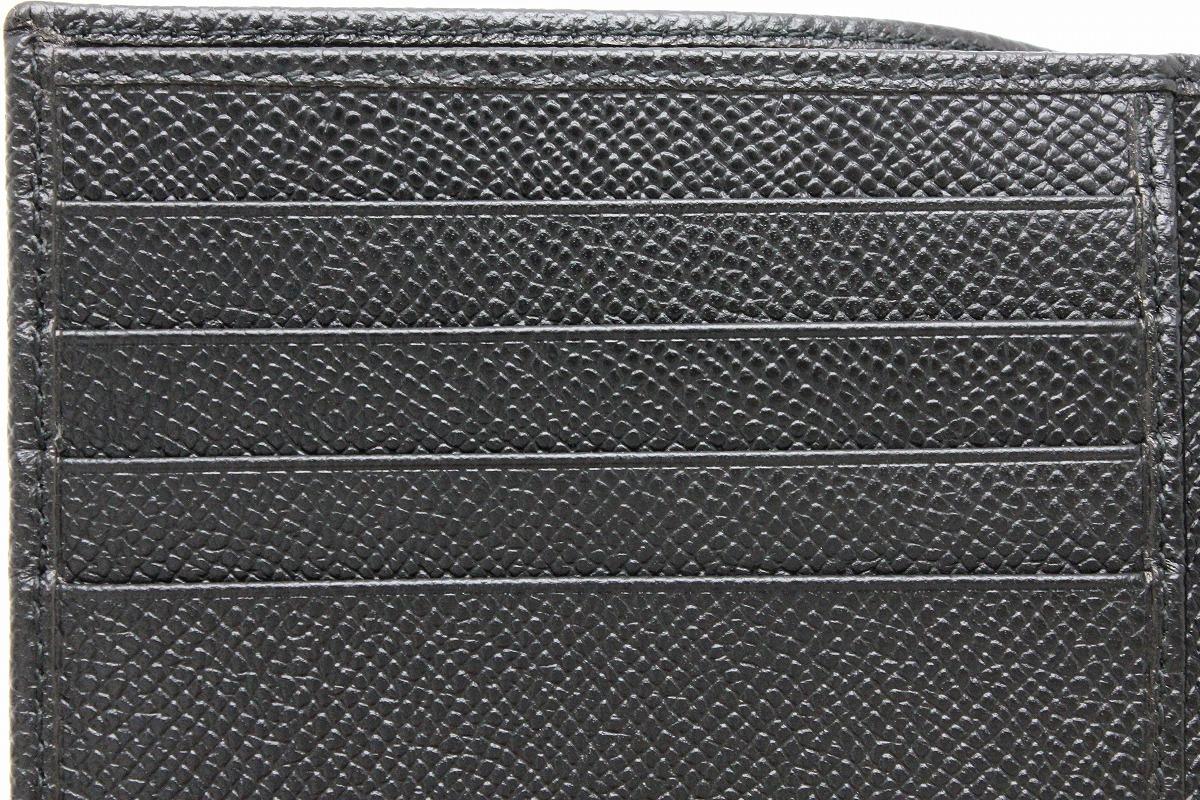 b90f57e2b64d ... 新品未使用品】【財布】BVLGARIブルガリグレインレザー2つ折財布 ...