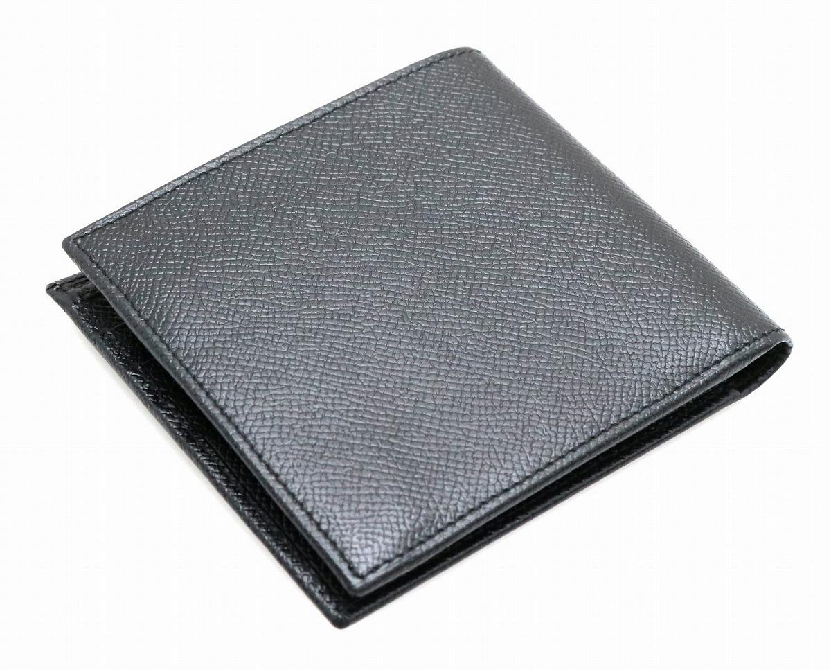 556ee89e178b ... 財布】BVLGARIブルガリグレインレザー2つ折財布黒ブラック20253【】【 ...