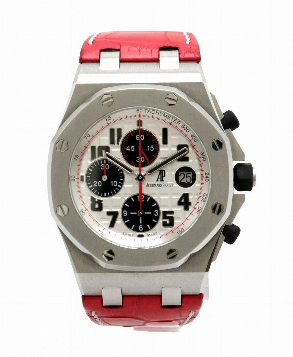 【ウォッチ】AUDEMARS PIGUET オーデマ ピゲ ロイヤルオーク オフショア クロノグラフ オートマ メンズ 腕時計 26170ST.OO.D101CR.02 【中古】【k】