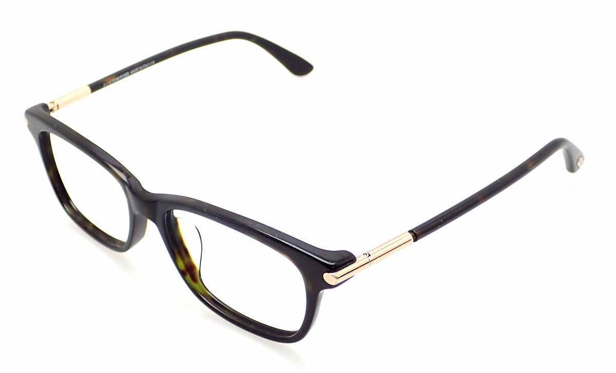 TOM FORD トム フォード トムフォード 眼鏡 伊達メガネ めがね ブラック 黒 ゴールド金具 54□16 145 TF4237 【中古】【u】