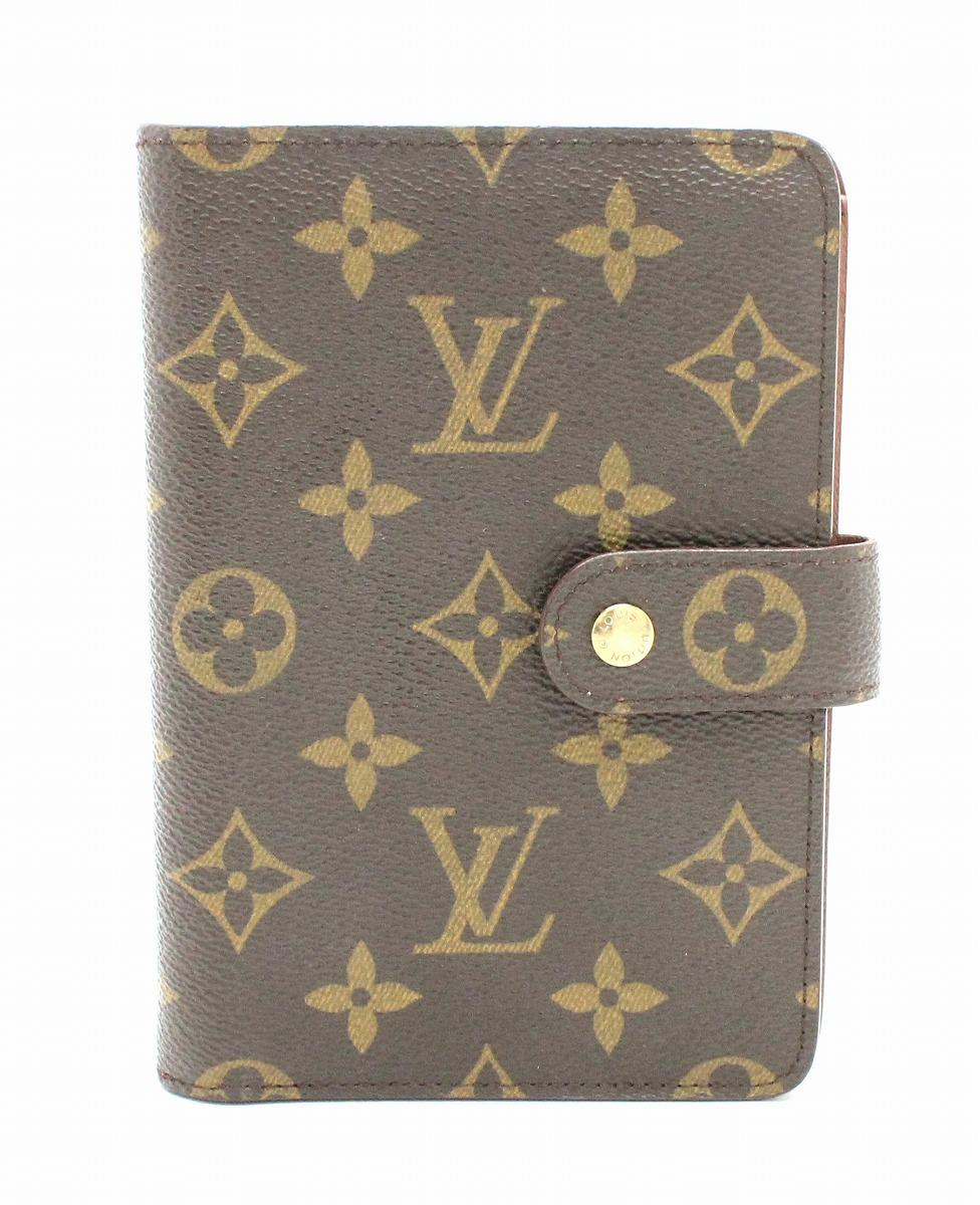 【財布】LOUIS VUITTON ルイ ヴィトン モノグラム ポルトパピエ ジップ 2つ折財布 証明書ケースなし M61207 【中古】【k】
