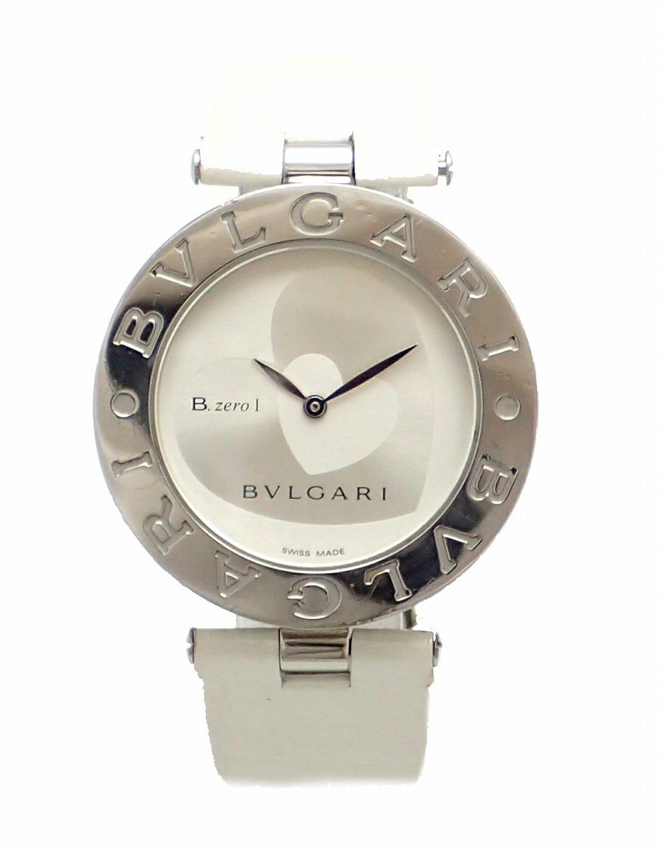 【ウォッチ】BVLGARI ブルガリ B.zero1 B-zero1 Bzero1 ビーゼロワン ダブルハート 35mm ユニセックス QZ クォーツ 腕時計 BZ35S 【中古】【k】
