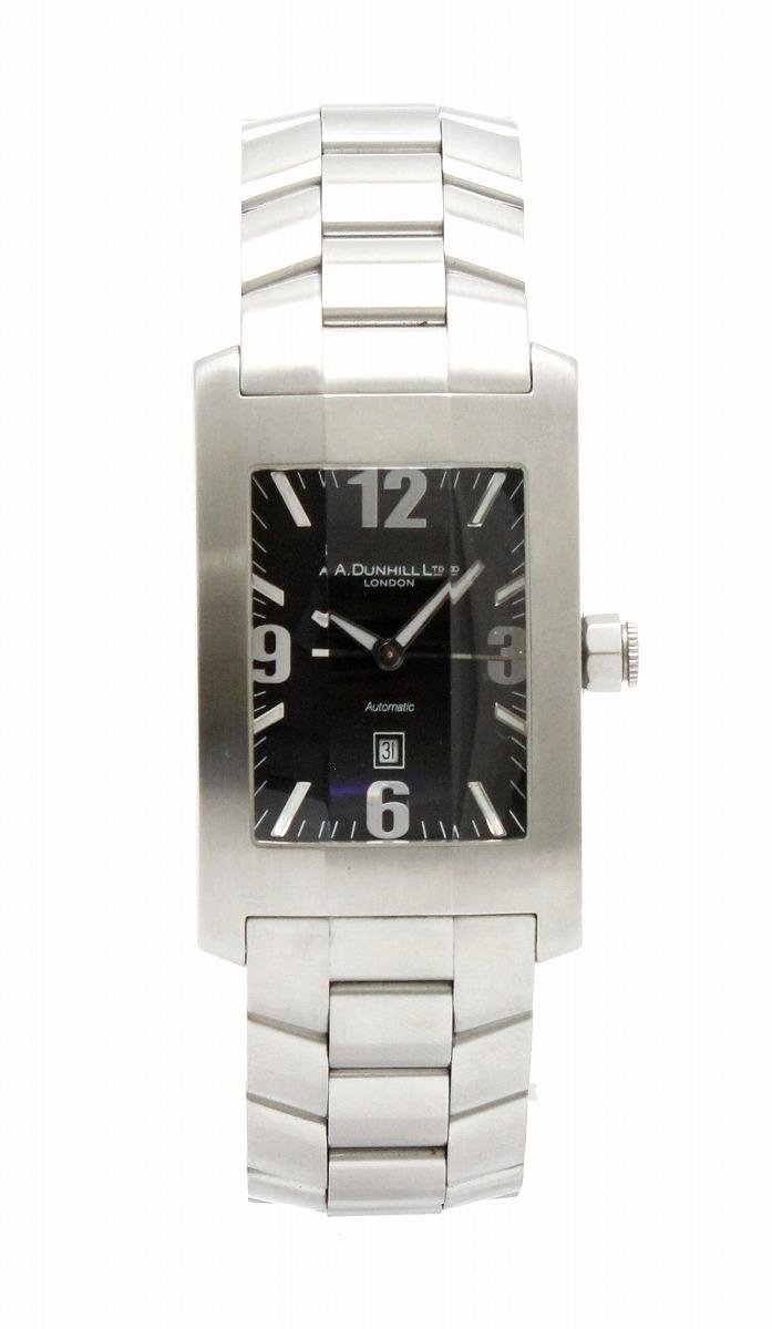 【ウォッチ】dunhill ダンヒル ダンヒリオン デイト SS ブラック文字盤 メンズ AT オートマ 腕時計 8040 【中古】【k】