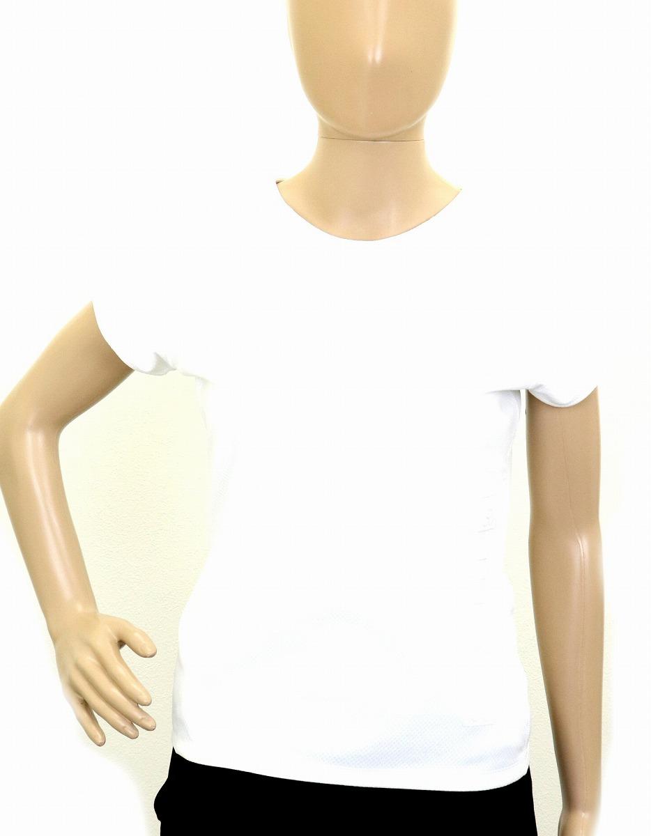 【アパレル】CHANEL シャネル レディース 半袖 カットソー Tシャツ ココマーク ポリエステル100% ホワイト 白 サイズ38 【中古】【k】