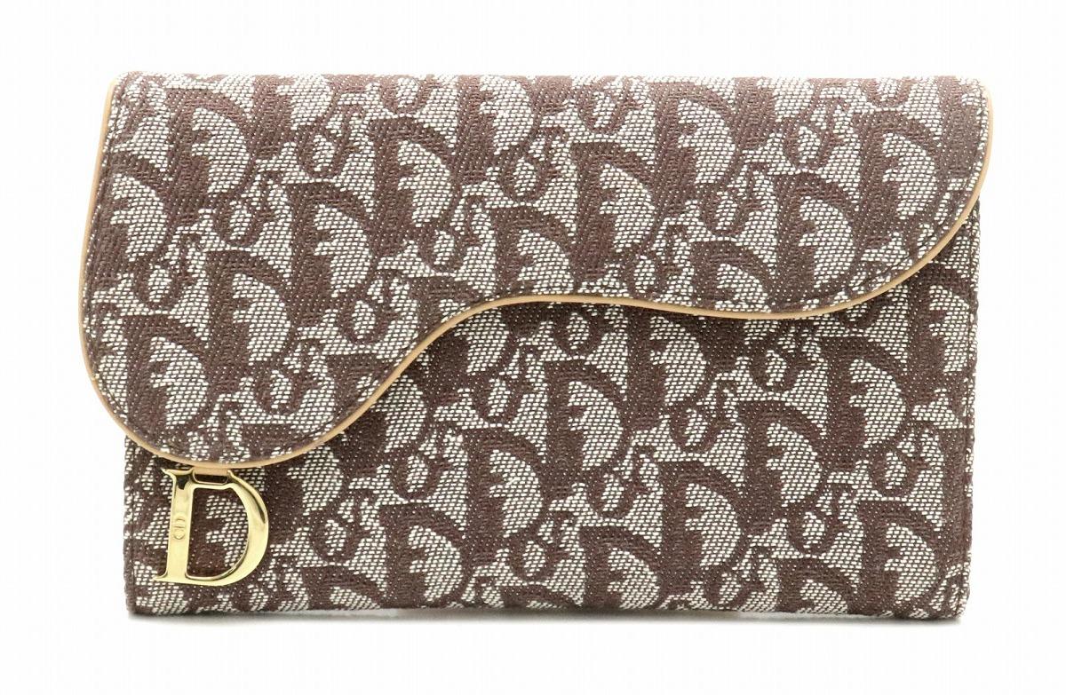 official photos e71fd 6b9d1 トロッター ディオール クリスチャン Dior 【財布】Christian 3 ...