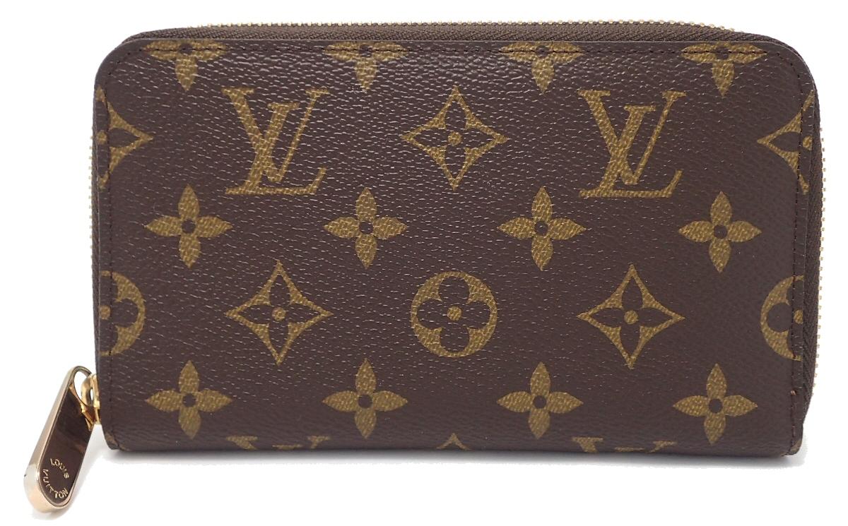 【財布】LOUIS VUITTON ルイ ヴィトン モノグラム ジッピーコンパクトウォレット ラウンドファスナー財布 ベタなし M40499 【中古】【u】