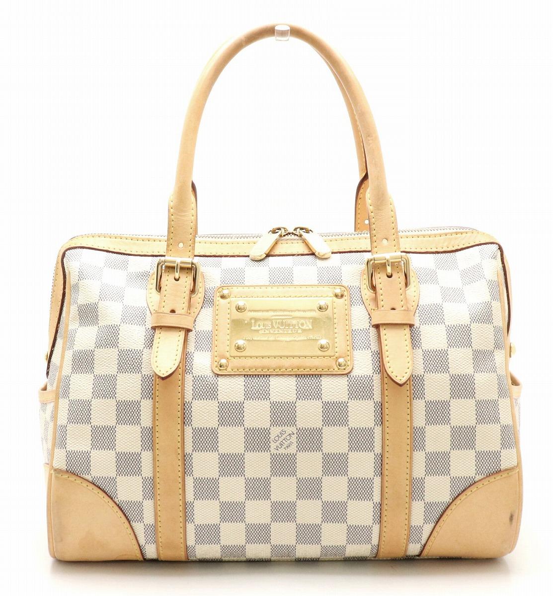 【バッグ】LOUIS VUITTON ルイ ヴィトン ダミエアズール バークレー ハンドバッグ ミニボストンバッグ N52001 【中古】【k】