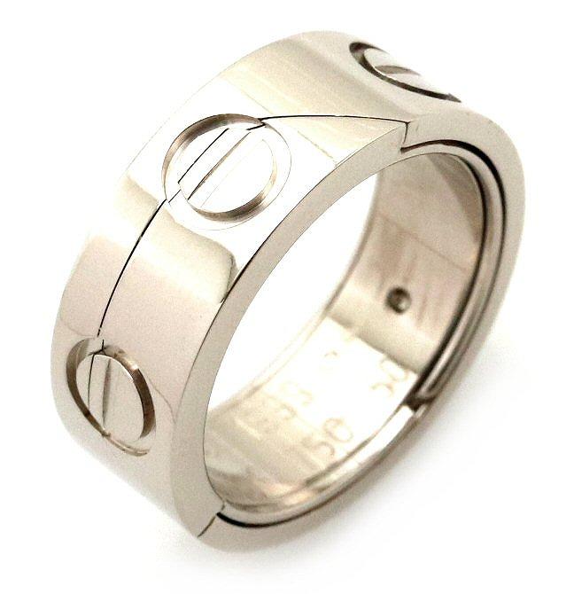 【ジュエリー】【新品仕上げ済】Cartier カルティエ アストロラブリング 指輪 K18WG ホワイトゴールド 10号 #50 1999年クリスマス限定品 【中古】【Blumin/森田質店】【質屋出品】【k】