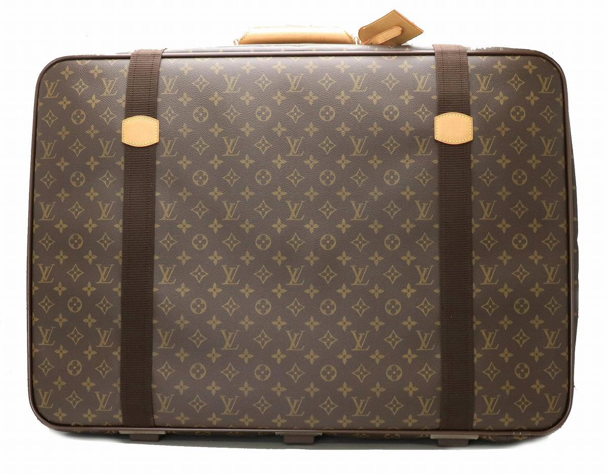 【バッグ】LOUIS VUITTON ルイ ヴィトン モノグラム サテライト70 スーツケース トラベルバッグ 旅行カバン M23350 【中古】【s】