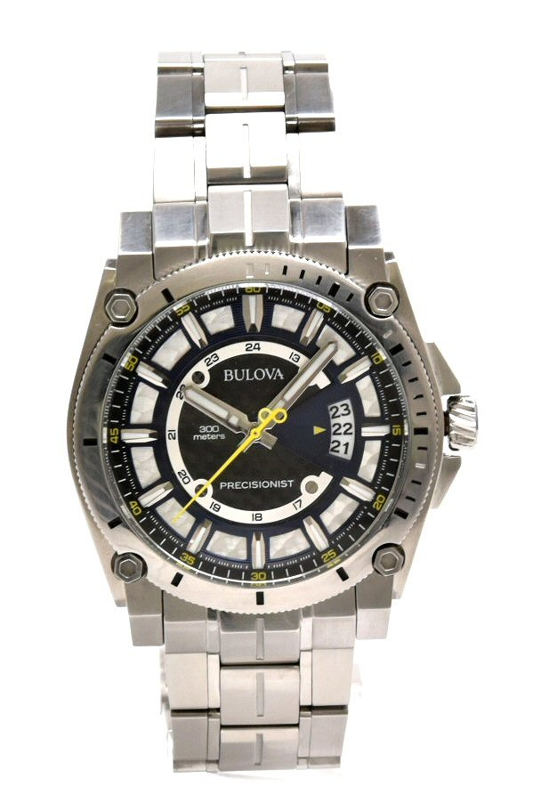 【ウォッチ】BULOVA ブローバ プレシジョニスト Precisionist クオーツ メンズ 腕時計 時計 ウォッチ オートマ 96B131 【中古】【k】