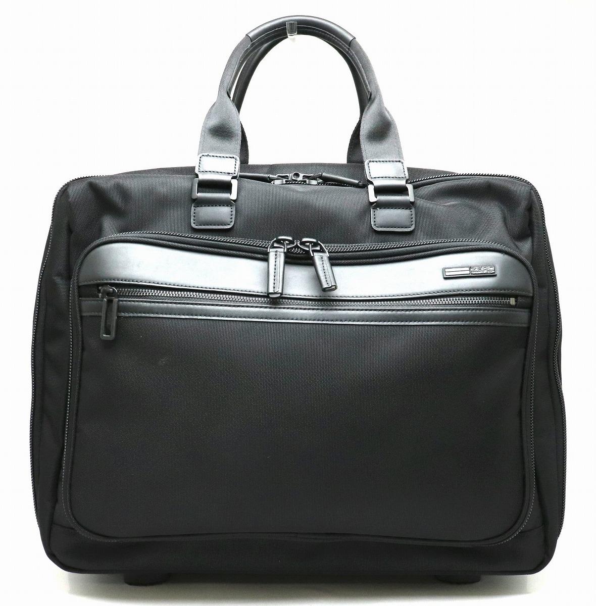 【バッグ】ZERO HALLIBURTON ゼロハリバートン キャリーバッグ スーツケース ナイロン ブラック 黒 【中古】