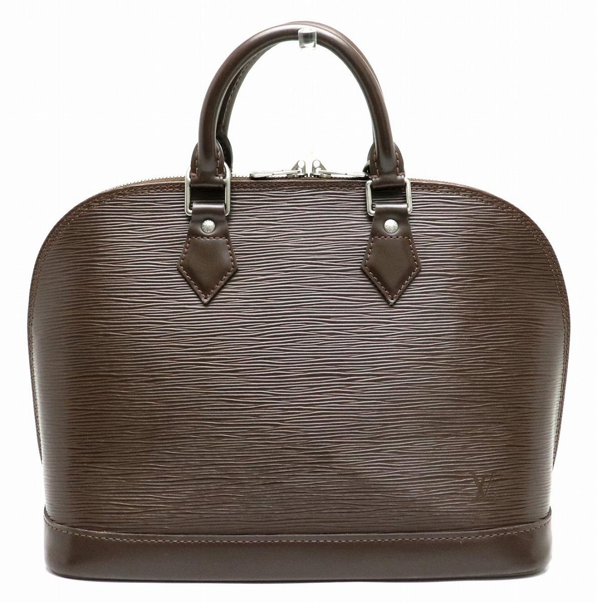 【バッグ】LOUIS VUITTON ルイ ヴィトン エピ アルマ ハンドバッグ レザー モカ 茶 ブラウン M5214D 【中古】