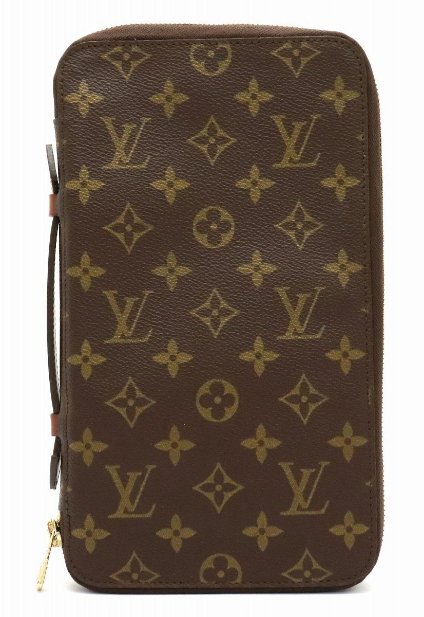 【バッグ】LOUIS VUITTON ルイ ヴィトン モノグラム ポッシュ エスカパド トラベルケース セカンドバッグ ハンドバッグ M60113 【中古】
