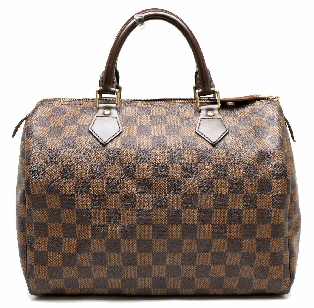 【バッグ】LOUIS VUITTON ルイ ヴィトン ダミエ スピーディ30 ハンドバッグ ミニボストンバッグ N41531 【中古】