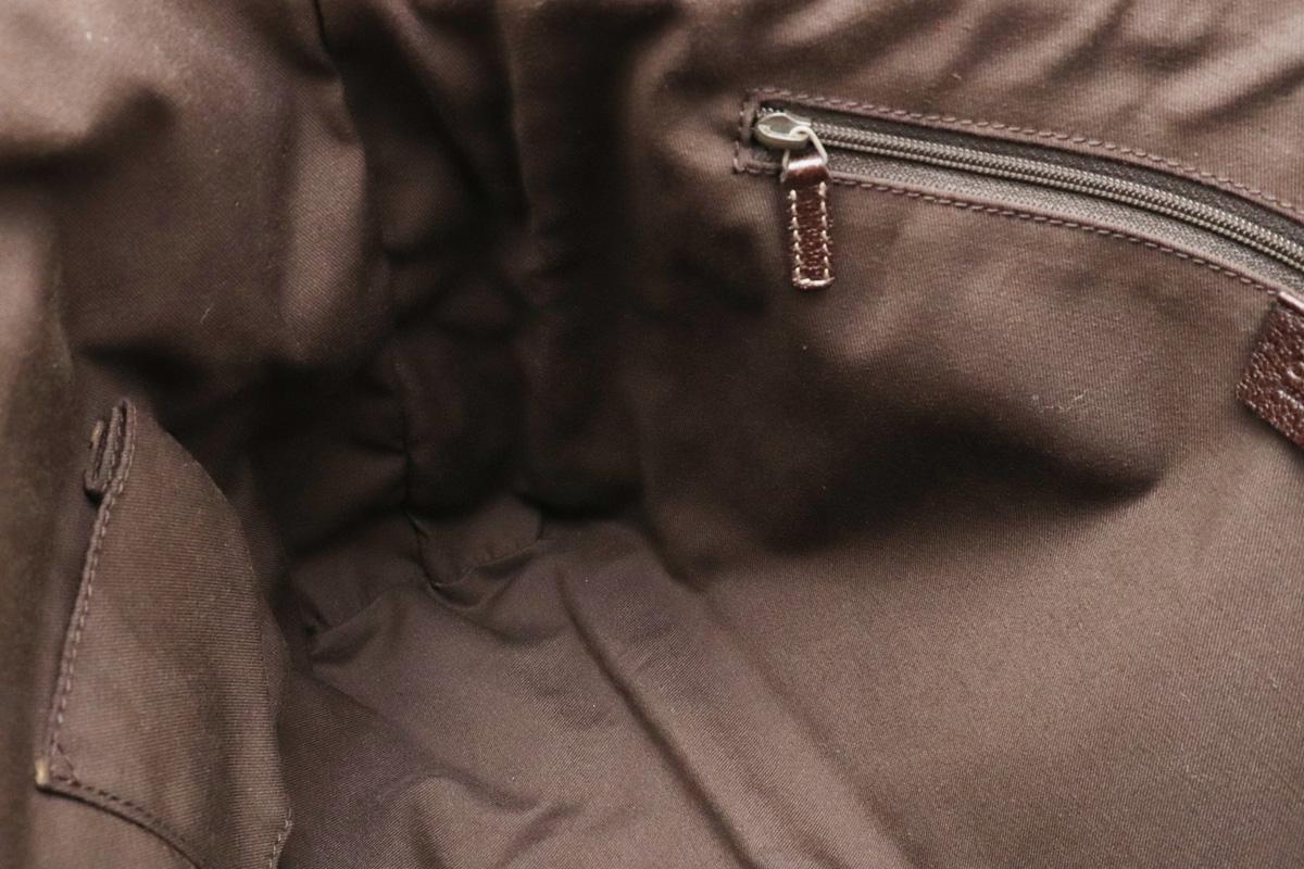 バッグ GUCCI グッチ GGキャンバス トートバッグ ショルダーバッグ ショルダートート 肩掛け レザー カーキベージュ 茶 ダークブラウン 146247O0XkNnPZ8w