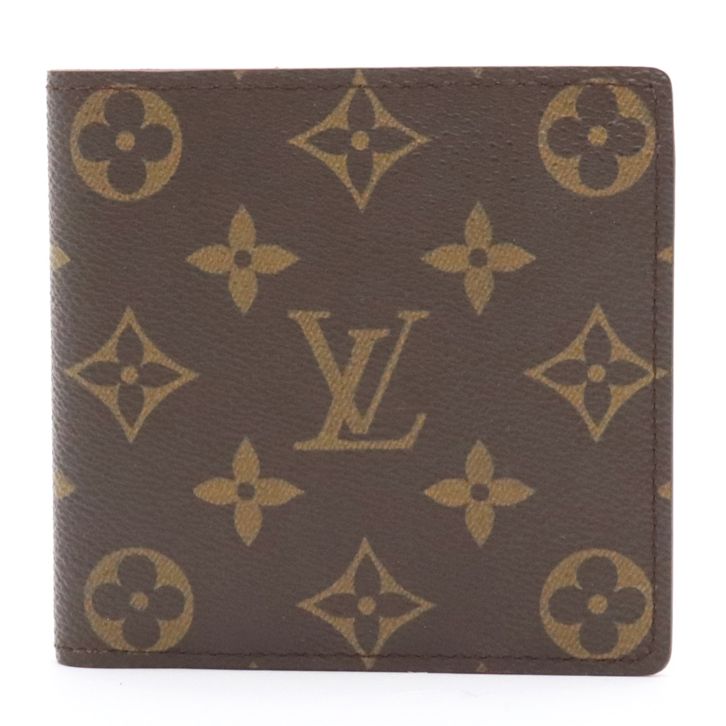 【財布】LOUIS VUITTON ルイ ヴィトン モノグラム ポルト ビエ カルト クレディ モネ 2つ折財布 M61665 【中古】