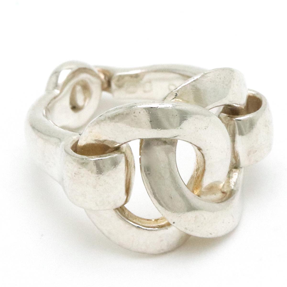【ジュエリー】HERMES エルメス リング 指輪 10号 #50 SV925 シルバー 【中古】