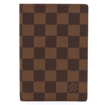LOUIS VUITTON ルイ ヴィトン ダミエ クーヴェルテュール パスポール パスポートケース パスポートカバー クーベルチュール N60188 【中古】