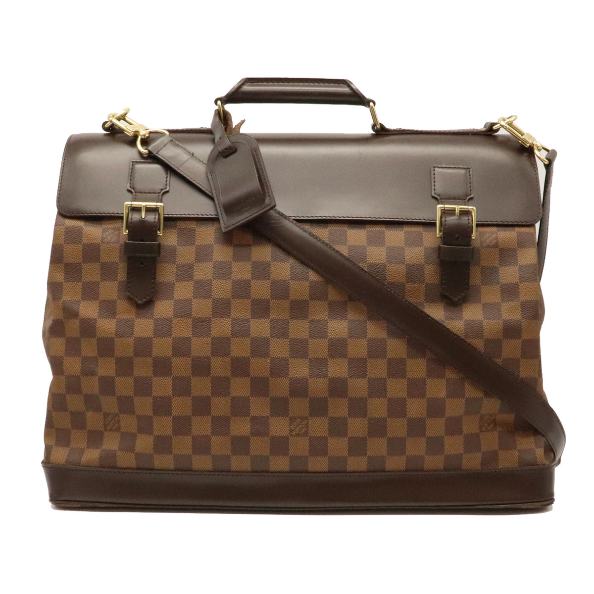 【バッグ】LOUIS VUITTON ルイ ヴィトン ダミエ ウエストエンドPM 旅行カバン ボストンバッグ ショルダーバッグ ショルダーボストン N41130 【中古】