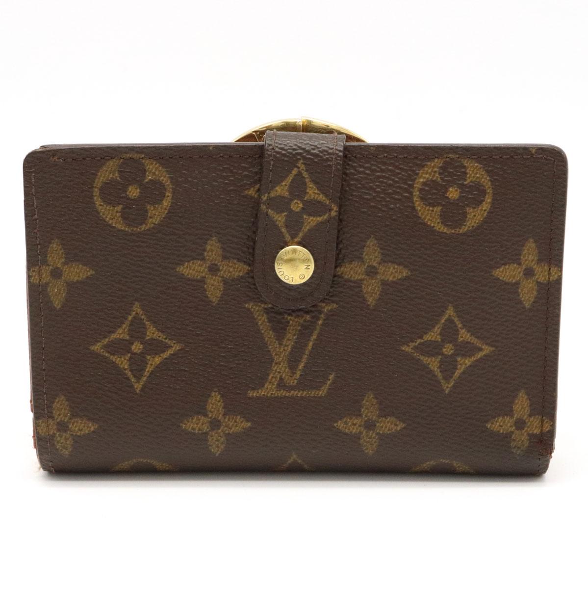 財布 LOUIS VUITTON セール品 ルイ ヴィトン モノグラム ポルトフォイユ がま口財布 M61663 中古 二つ折り ヴィエノワ 2つ折 ガマ口財布 爆買いセール
