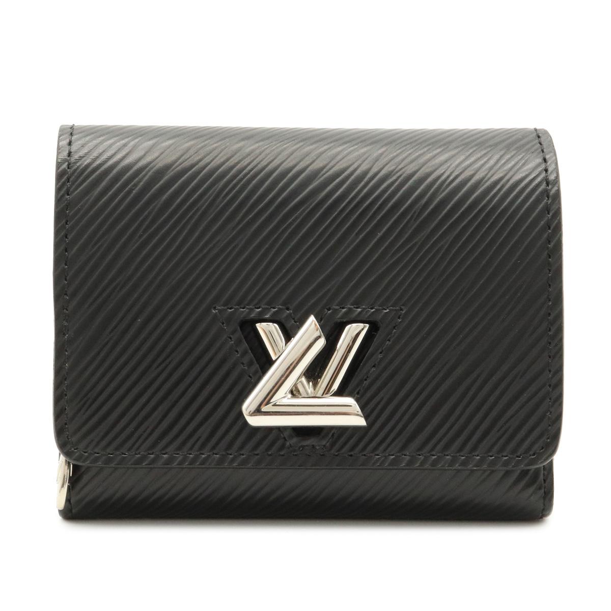 財布 LOUIS VUITTON ルイ 2020 新作 ヴィトン エピ ポルトフォイユ ツイスト コンパクト ブラック 黒 中古 XS 三つ折り財布 3つ折り財布 レザー M63322 ノワール 公式ショップ