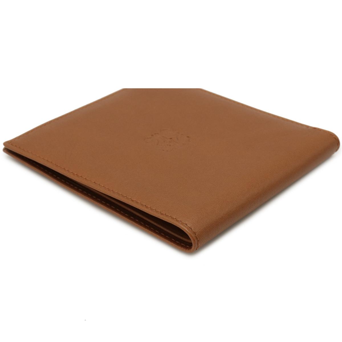 LOEWE Anagram 2 Bold Bottom Bad Fold Book Leather Brown Tea