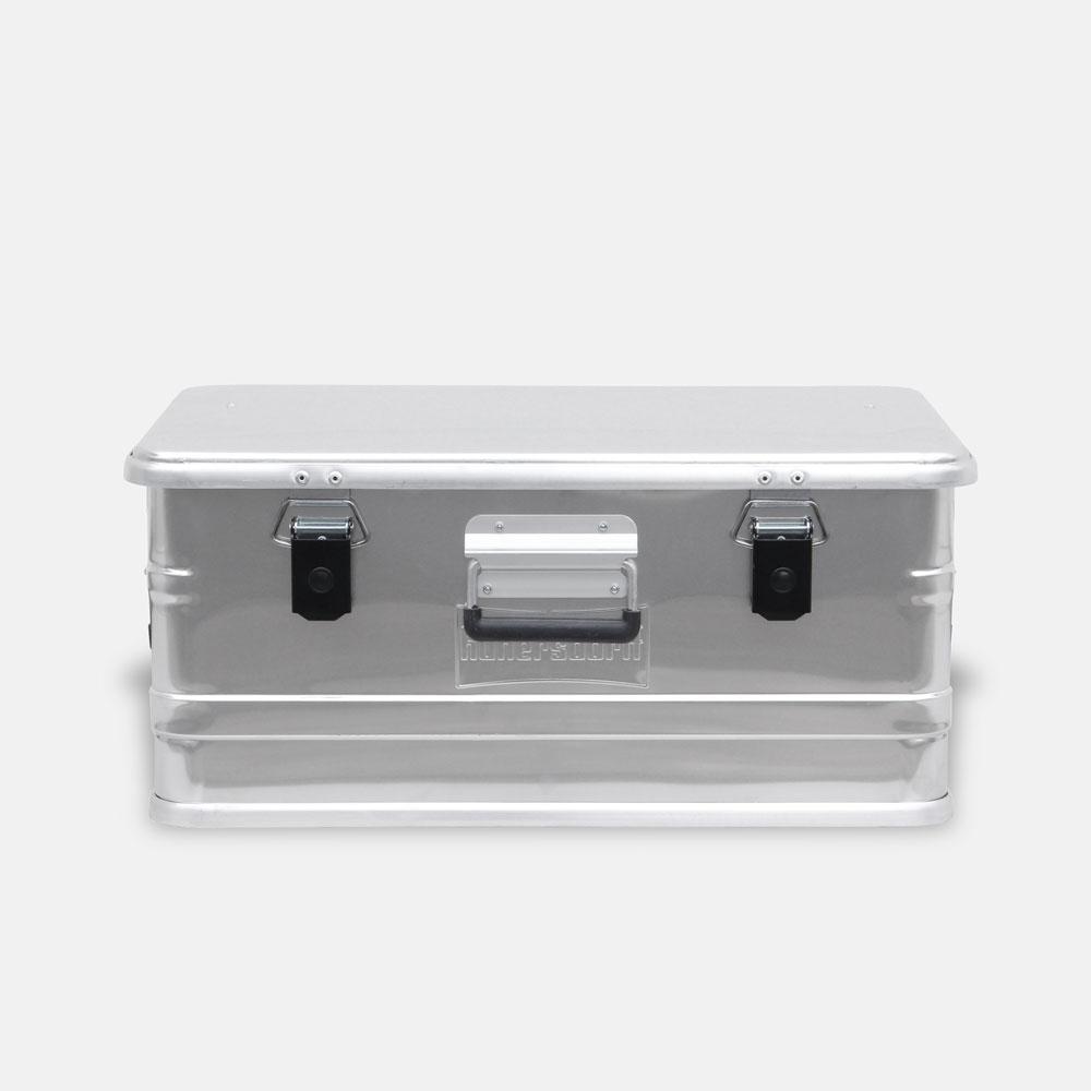 Hunersdorff / Aluminium Profi Box 47L【アルミニウムプロフィーボックス/アルミコンテナ/ヒューナースドルフ/アウトドア/キャンプ】[113479