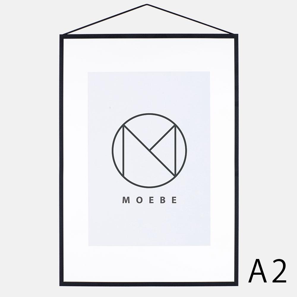 【あす楽対応】MOEBE / フレーム A2(Aluminium(Black)【FRAME/アルミニウム/ブラック/額縁/デンマーク/インテリア/ムーベ】[113174