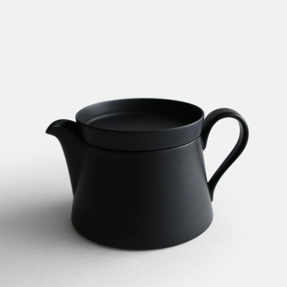 2016/ / IR/014 Tea Pot S (Black Matt)【arita/ニーゼロイチロク/ティーポット/有田焼/インゲヤードローマン/Ingegerd Raman/香蘭社】[112957