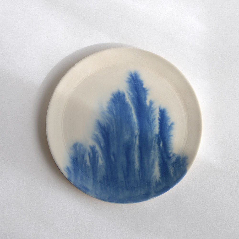 MISHIM POTTERY CREATION / DRIPS plate(size:M)[112630