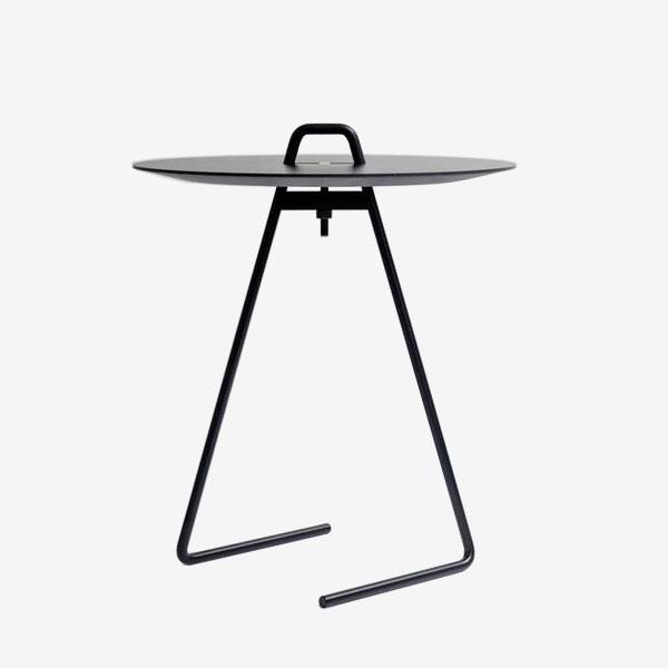 MOEBE / SIDE TABLE(Black Top)【サイドテーブル/ブラックトップ/ムーベ/デンマーク/インテリア】[112537